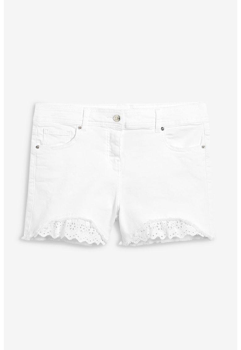 NEXT Pantaloni scurti din denim – cu garnituri brodate