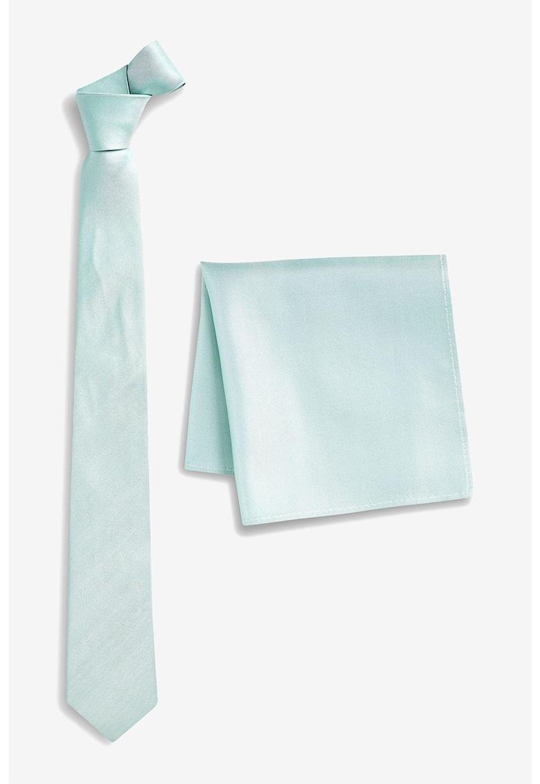 Set de batista decorativa si cravata de matase de la NEXT