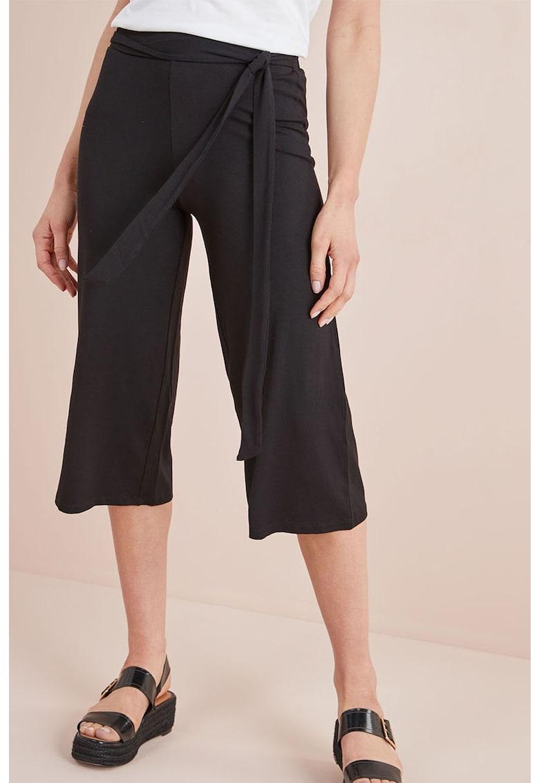 Pantaloni culotte cu prindere in talie NEXT