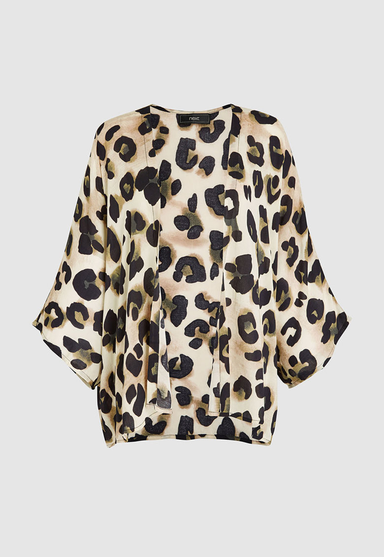 Chimono cu model animal print NEXT