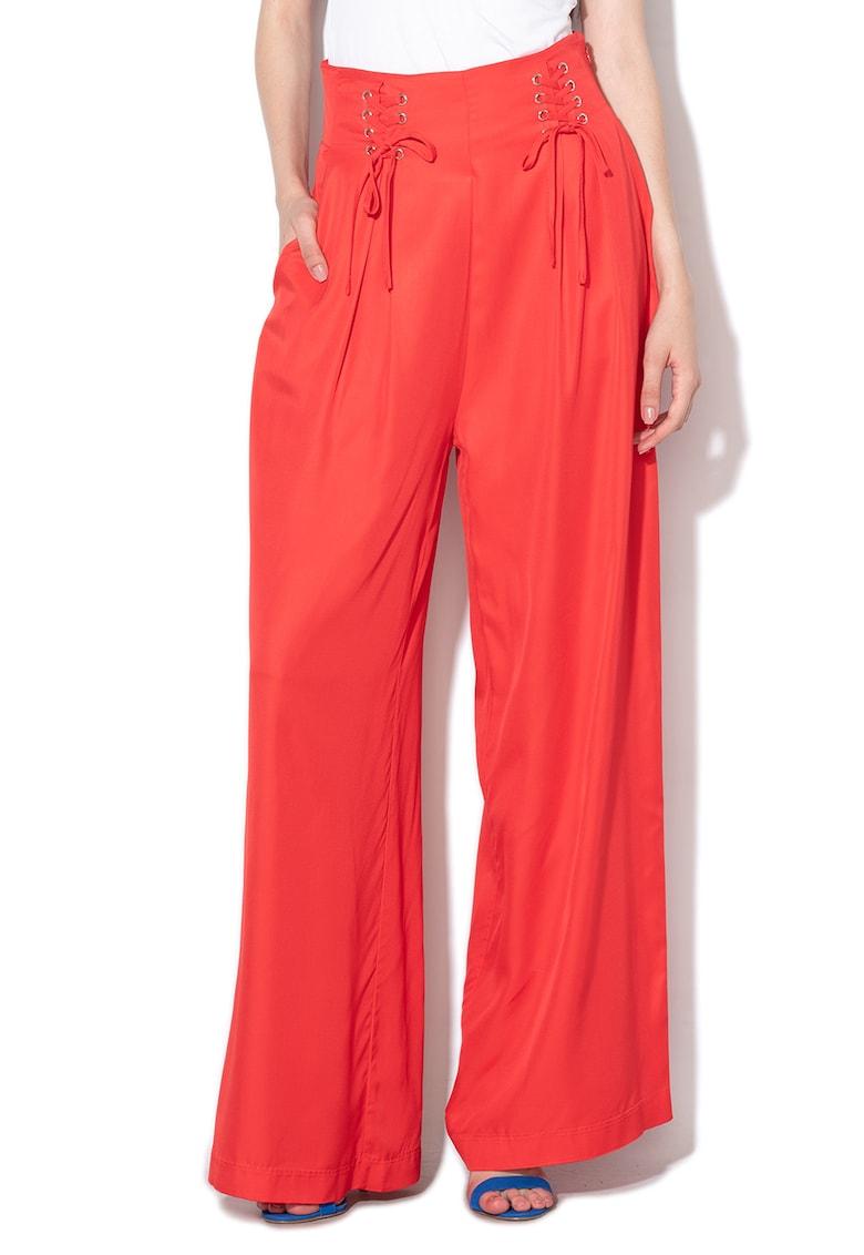 Pantaloni cu croiala ampla