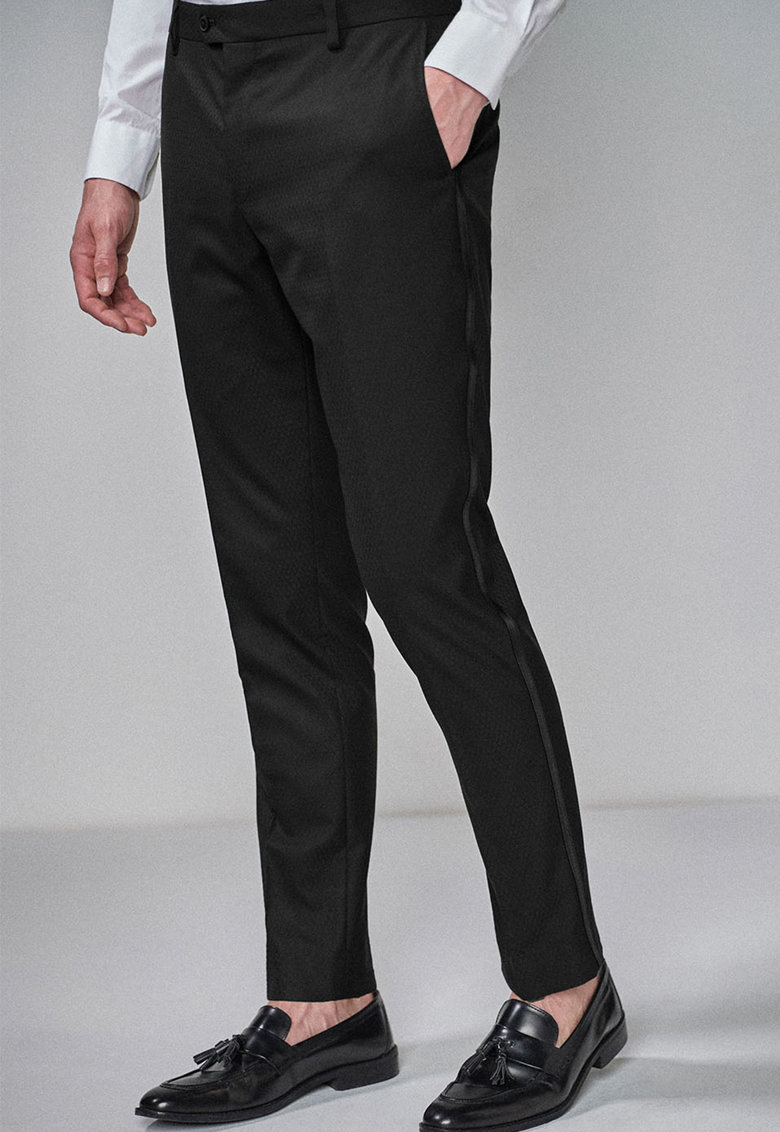 Pantaloni eleganti slim fit NEXT