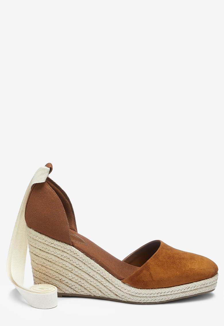 NEXT Pantofi tip espadrile wedge