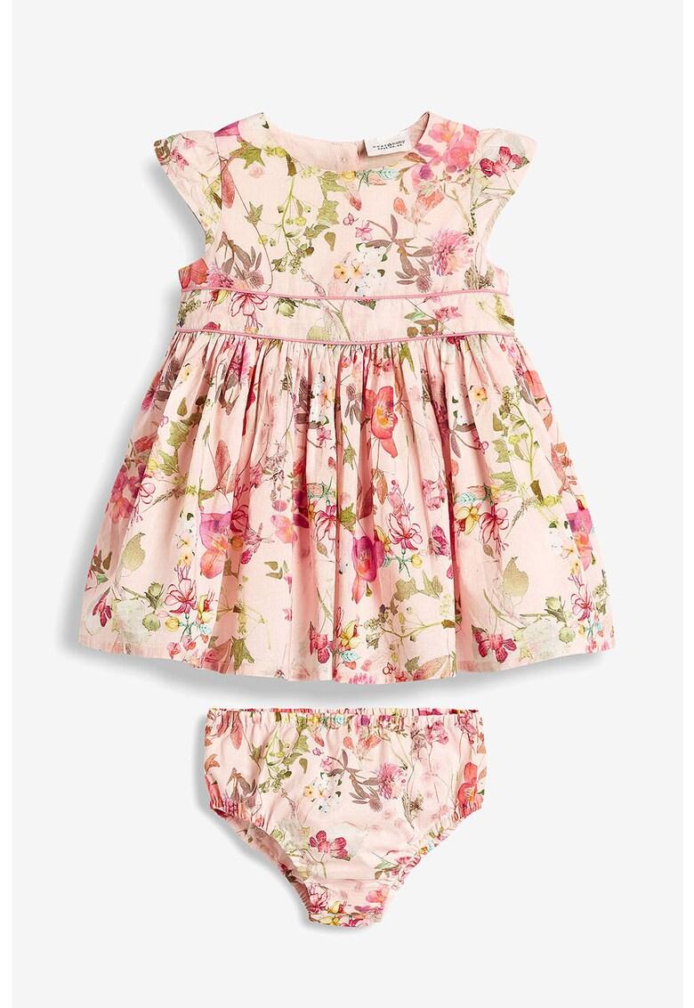 Set de rochie cu imprimeu floral si chiloti de la NEXT