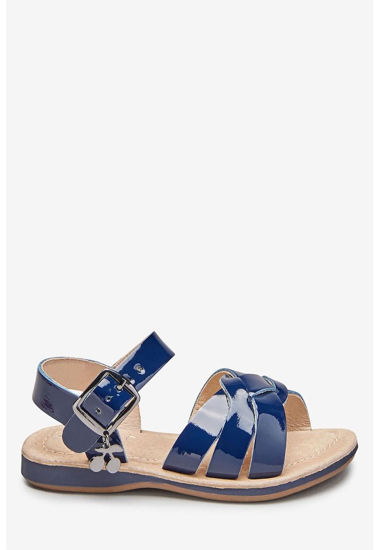 Sandale de piele lacuita – cu talisman NEXT