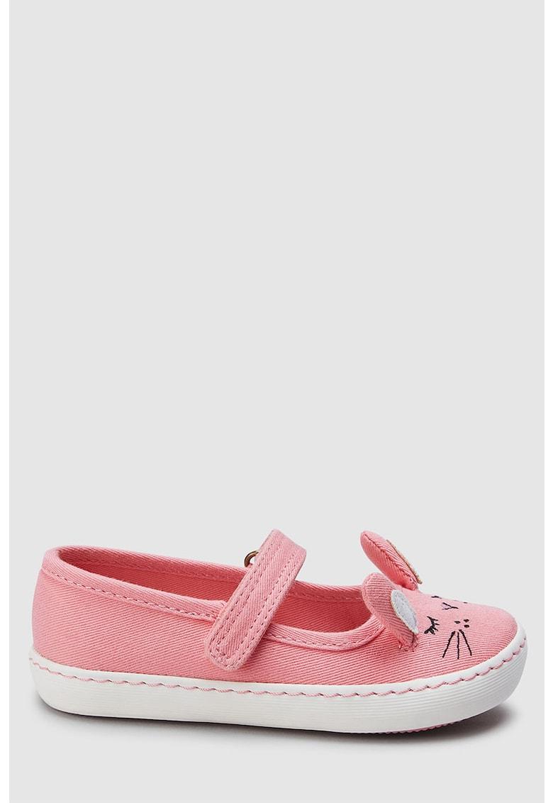Pantofi Mary Jane cu aplicatii urechi de iepure de la NEXT