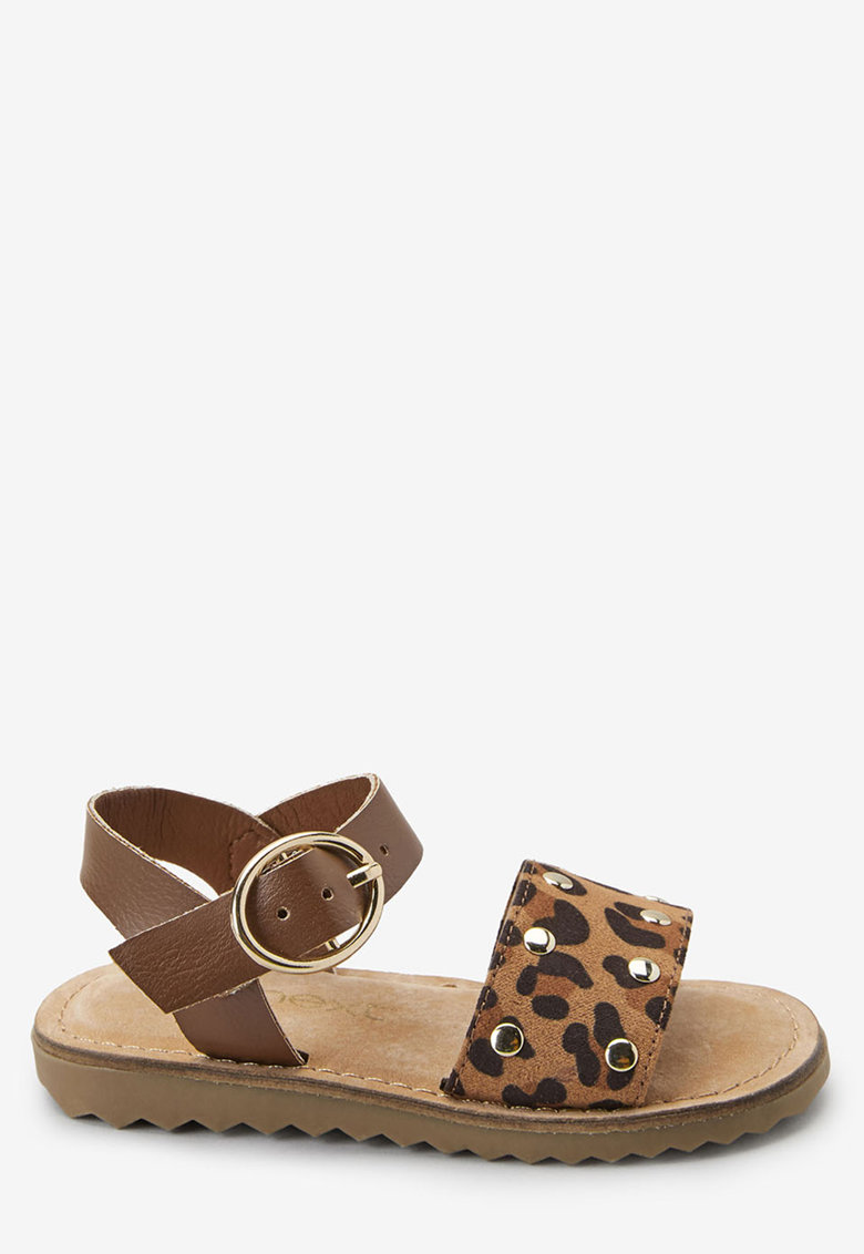 Sandale cu animal print NEXT