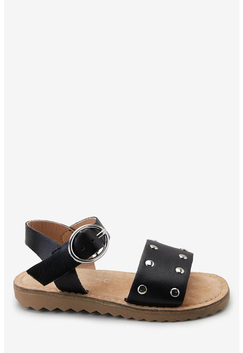 Sandale de piele ecologica – decorate cu nituri de la NEXT