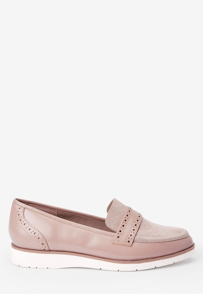 Pantofi loafer de piele ecologica NEXT