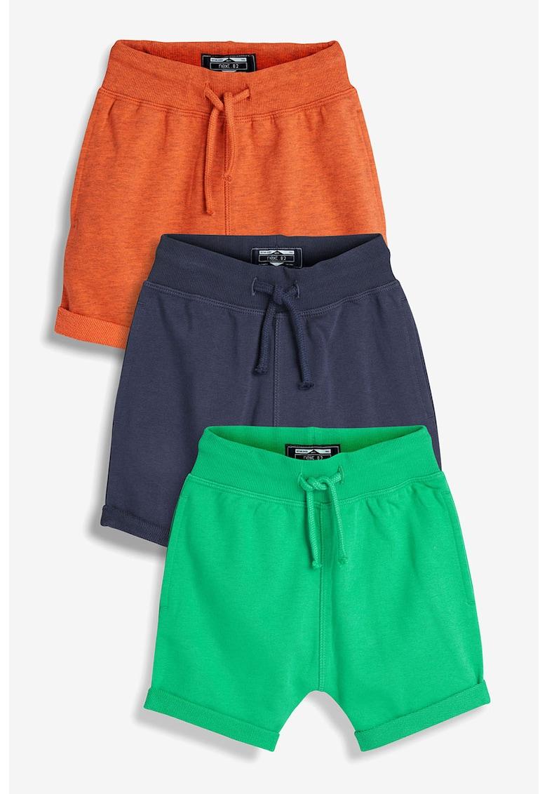 Set de pantaloni scurti de jerseu – 3 perechi de la NEXT