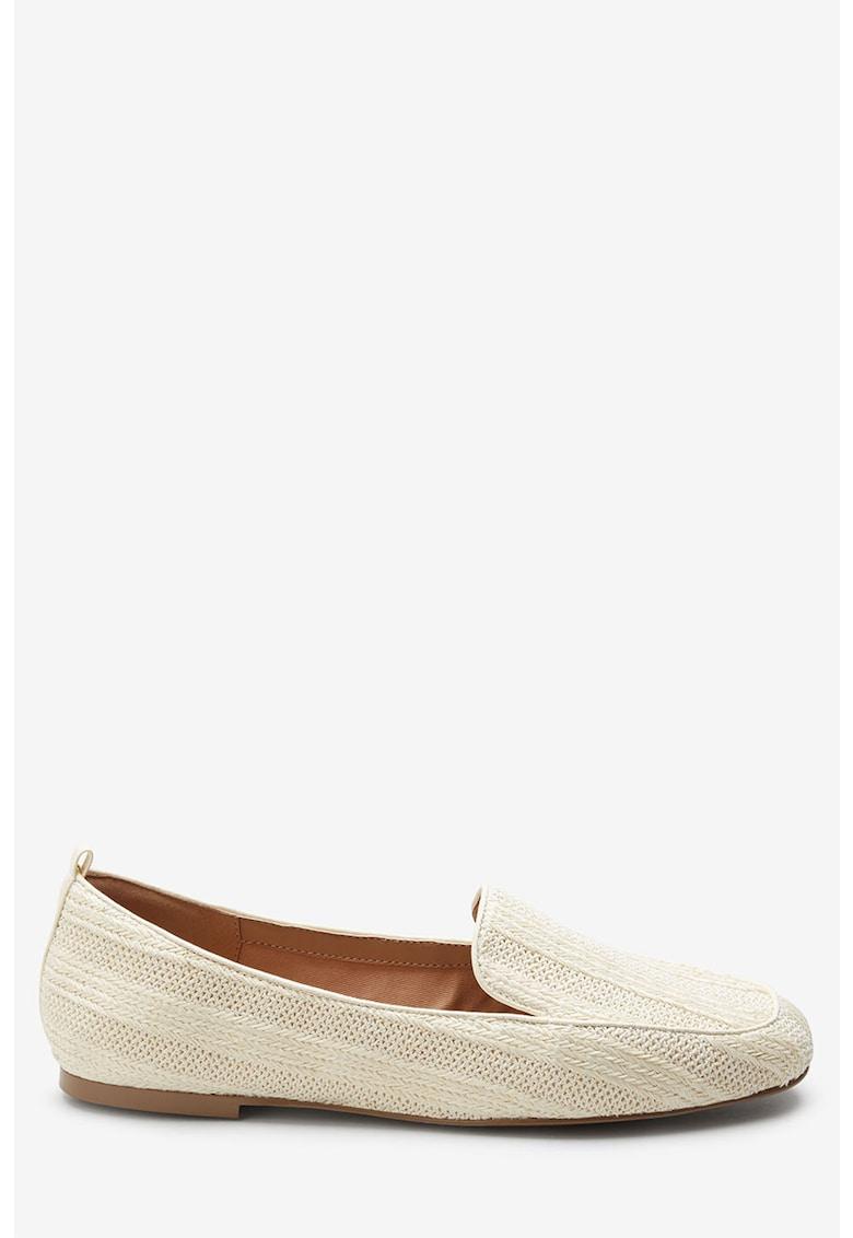 NEXT Pantofi loafer cu aspect tesut
