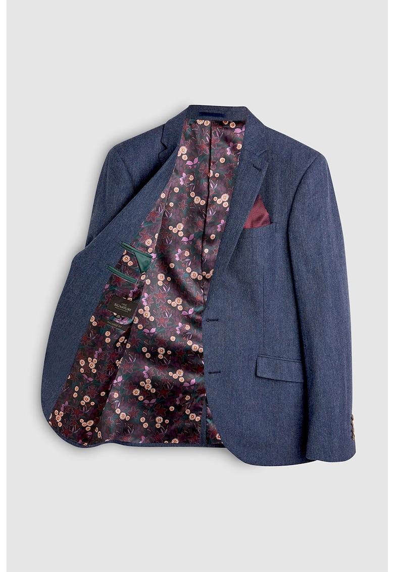NEXT Sacou elegant slim fit - din amestec de lana