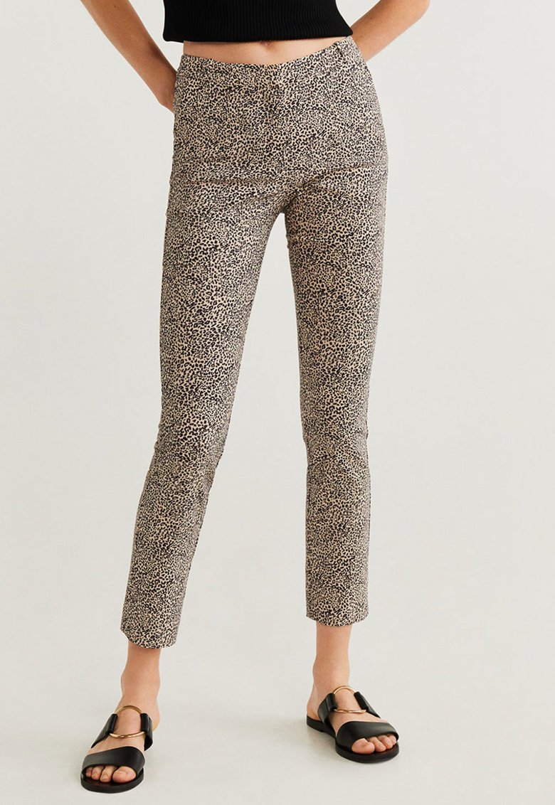 Pantaloni crop slim fit Cola