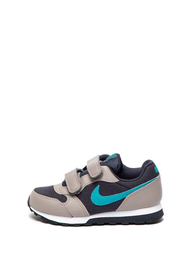 Pantofi sport de piele si material textil - cu logo Runner 2 de la Nike