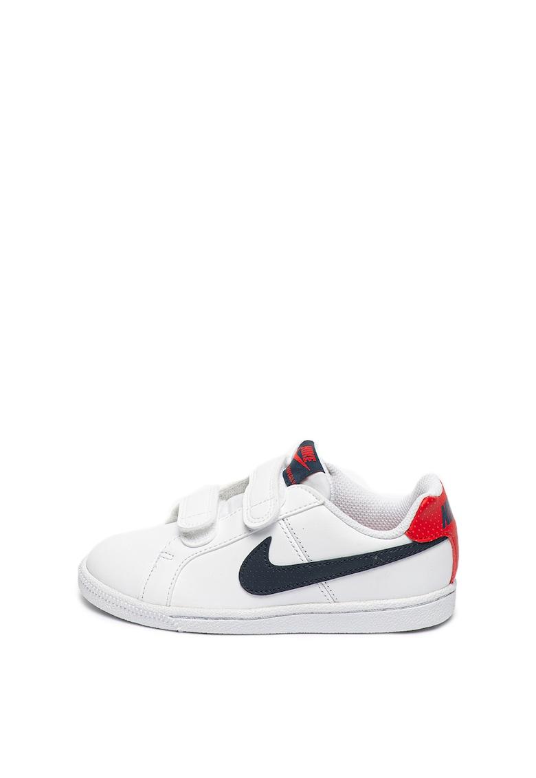 Pantofi sport cu velcro si garnituri de piele Court Royale Nike