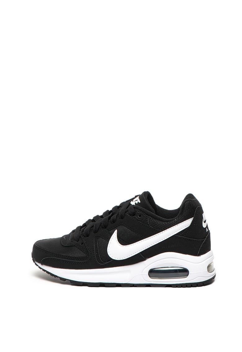 Pantofi sport cu logo si insertii din material textil Command Flex Nike