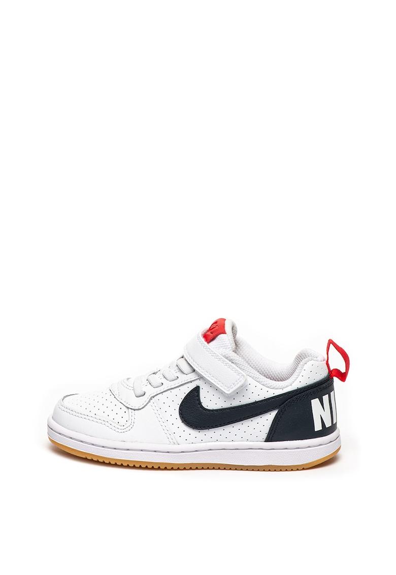 Pantofi sport cu logo contrastant Court Borough Nike
