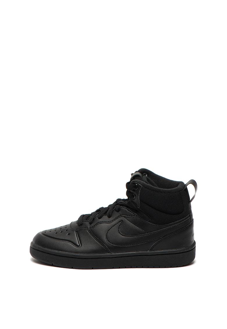 Pantofi sport mid-high de piele Court Borough Mid 2 Nike