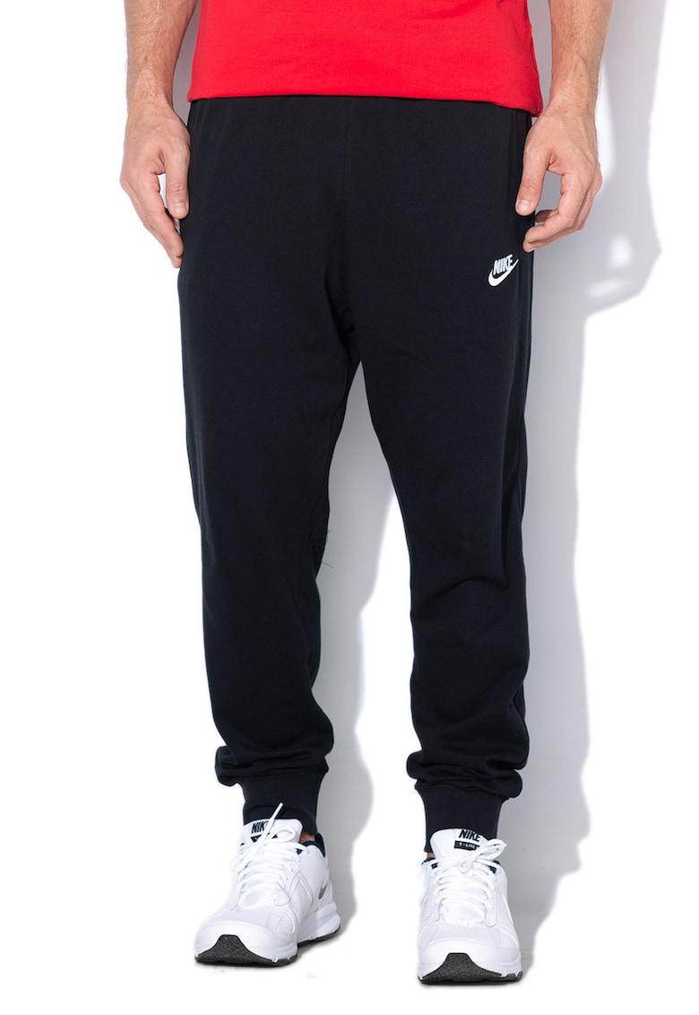 Nike Pantaloni sport cu logo brodat