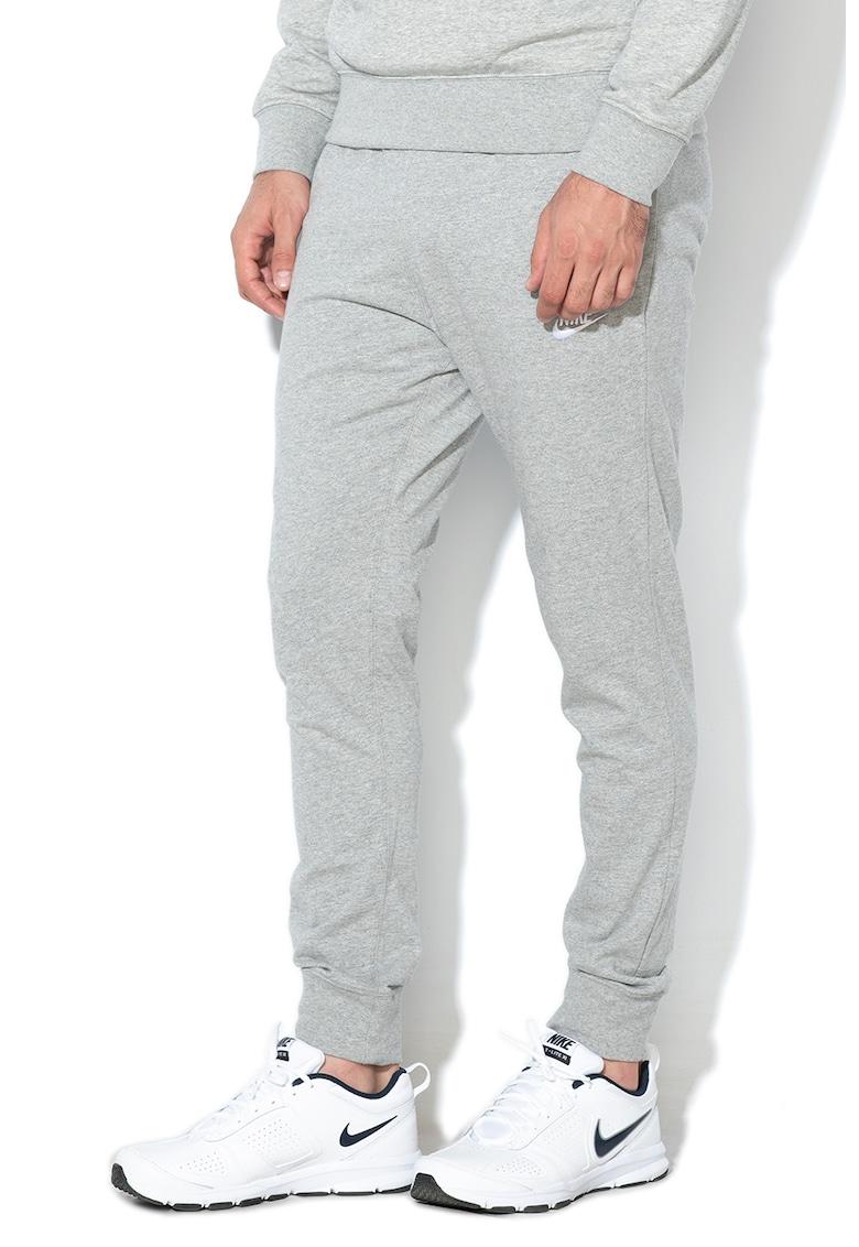 Pantaloni sport cu logo brodat 2 imagine
