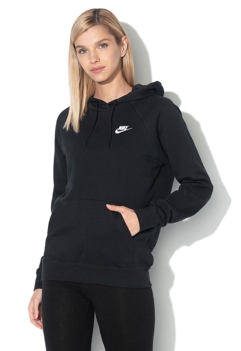Hanorac cu maneci raglan si buzunar kangaroo Essentials Nike