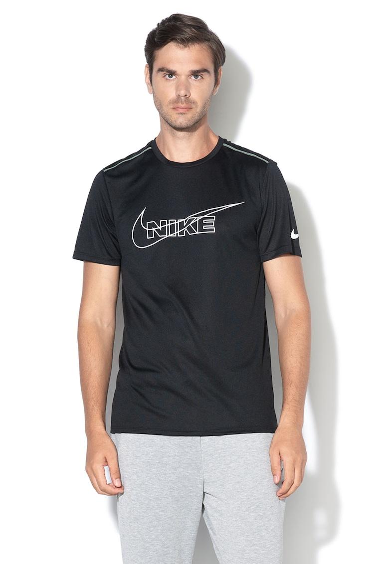 Tricou de plasa – cu logo – pentru alergare Nike