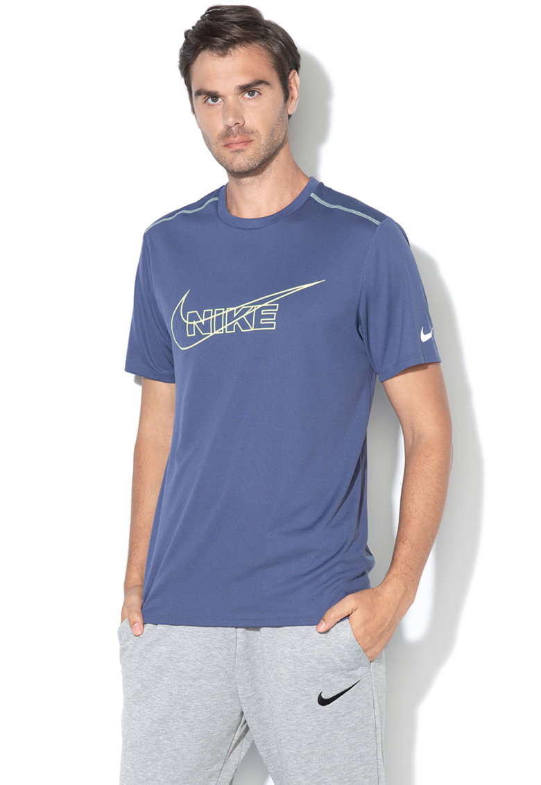Tricou de plasa – cu logo – pentru alergare de la Nike