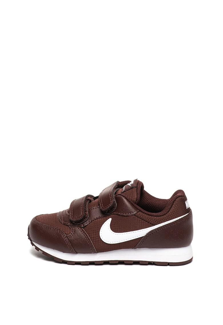 Pantofi sport de piele cu insertii de material textil MD Runner 2 de la Nike
