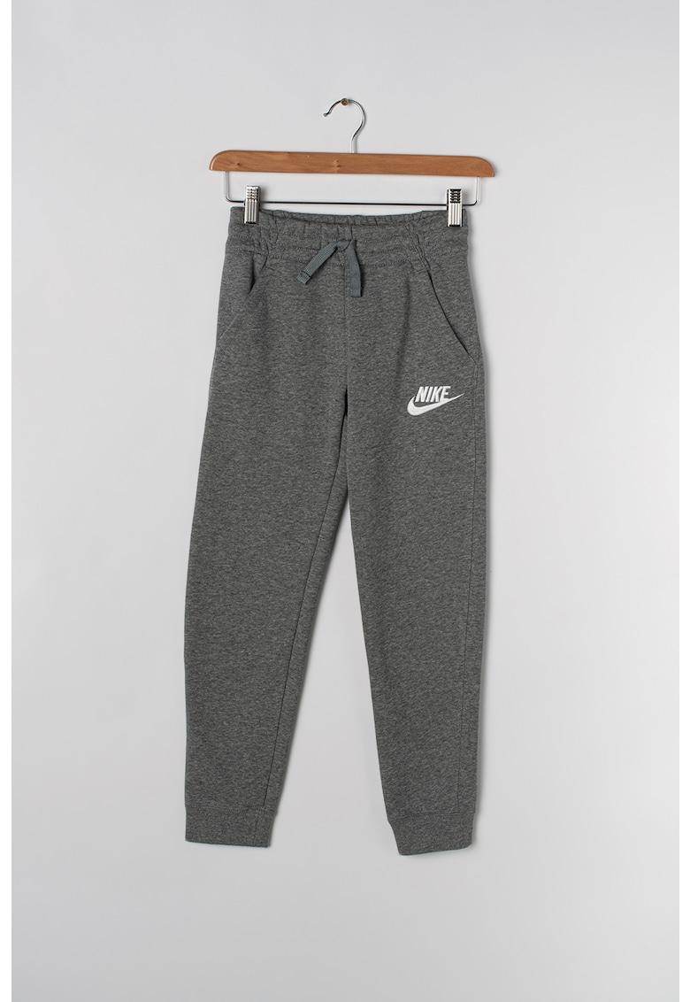 Pantaloni sport du detaliu logo brodat de la Nike