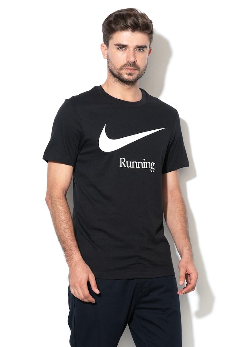 Tricou cu decolteu la baza gatului pentru alergare de la Nike