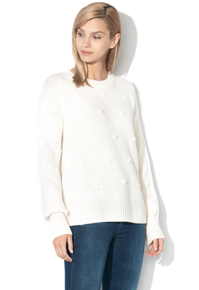 EDC by Esprit Pulover lejer tricotat - din amestec de lana