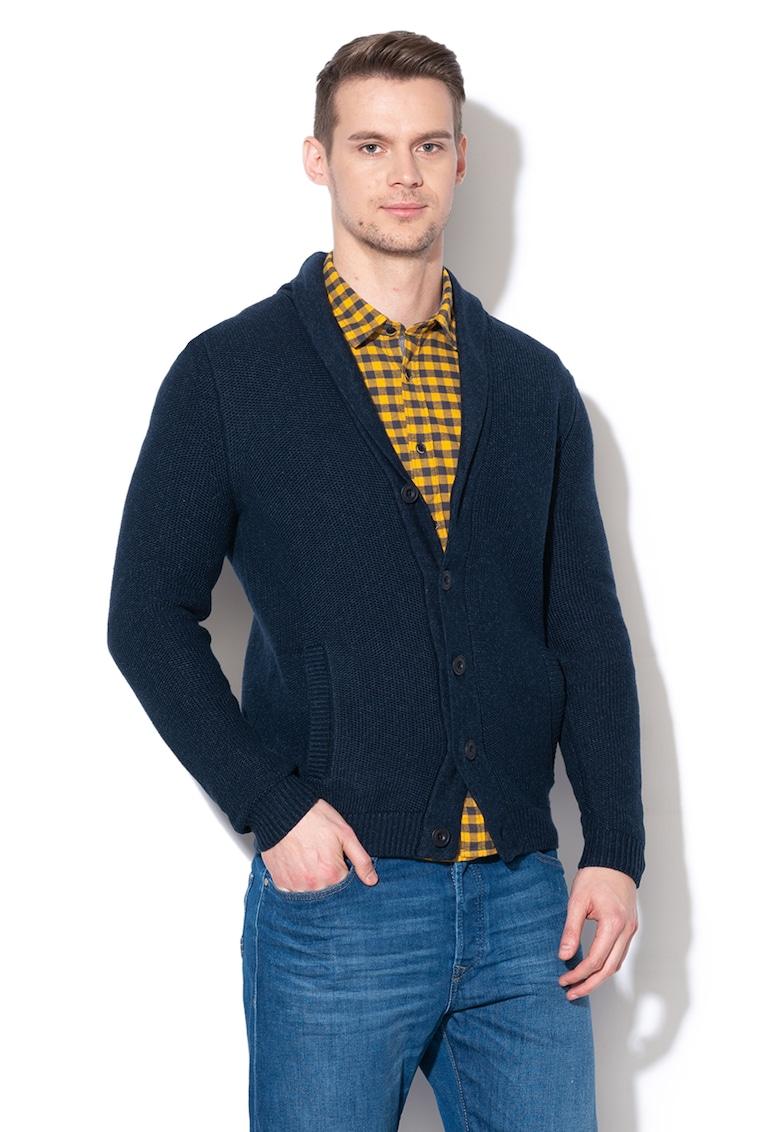 Cardigan tricotat cu nasturi