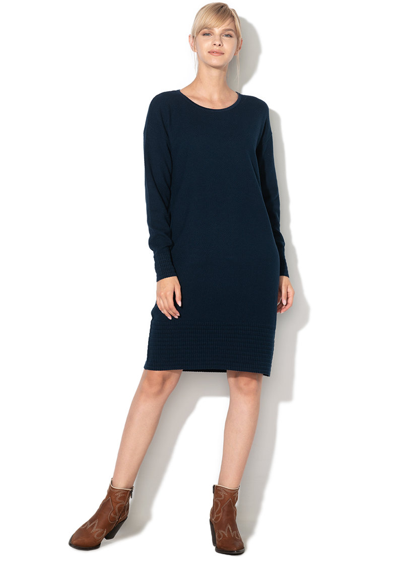 Rochie din tricot - cu maneci lungi de la EDC by Esprit