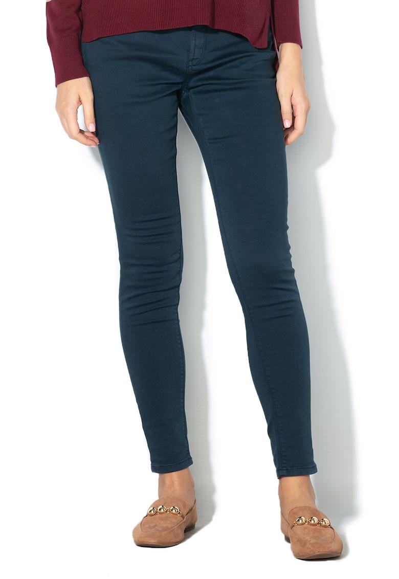 Pantaloni conici cu 5 buzunare