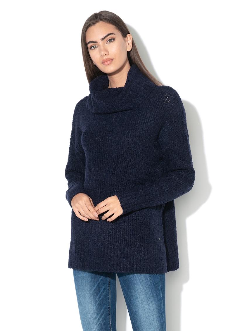 Pulover din amestec de lana – cu guler inalt de la Esprit