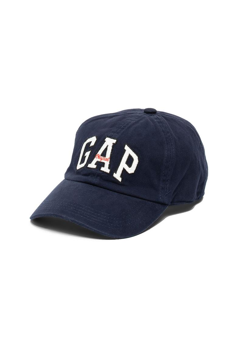 GAP Sapca unisex din denim cu broderie logo