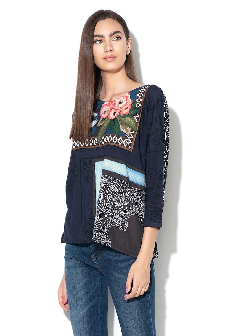 Bluza lejera cu diverse modele Audrie de la DESIGUAL