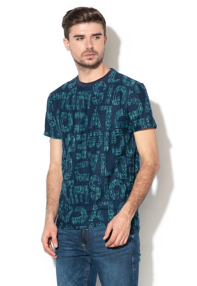 Tricou cu imprimeu logo Damasco