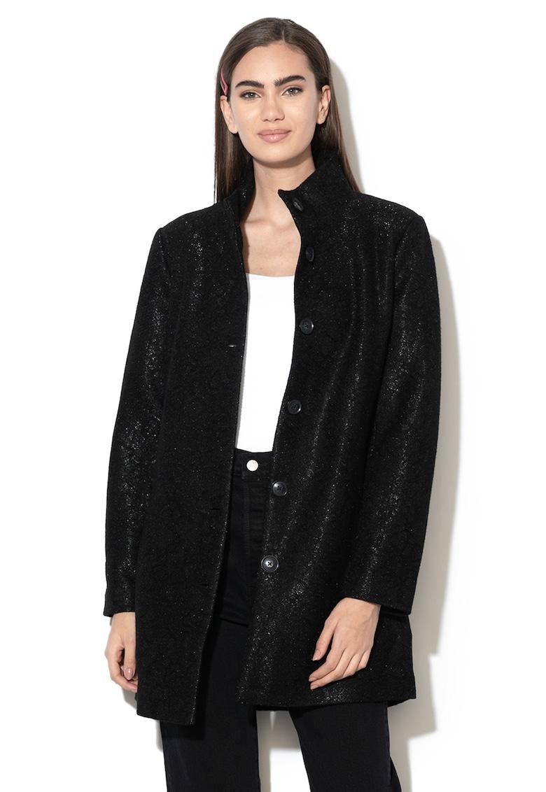 Palton din amestec de lana Simone
