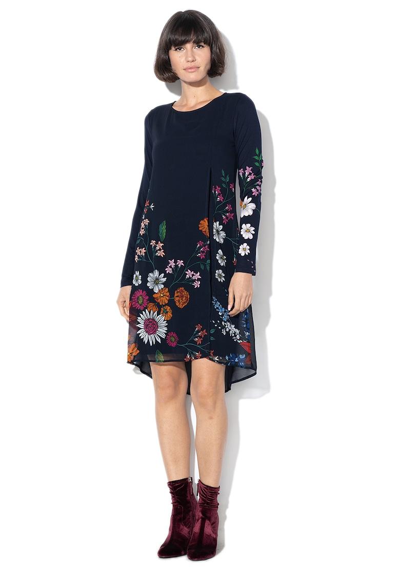Rochie mini cu imprimeu floral Alaska DESIGUAL