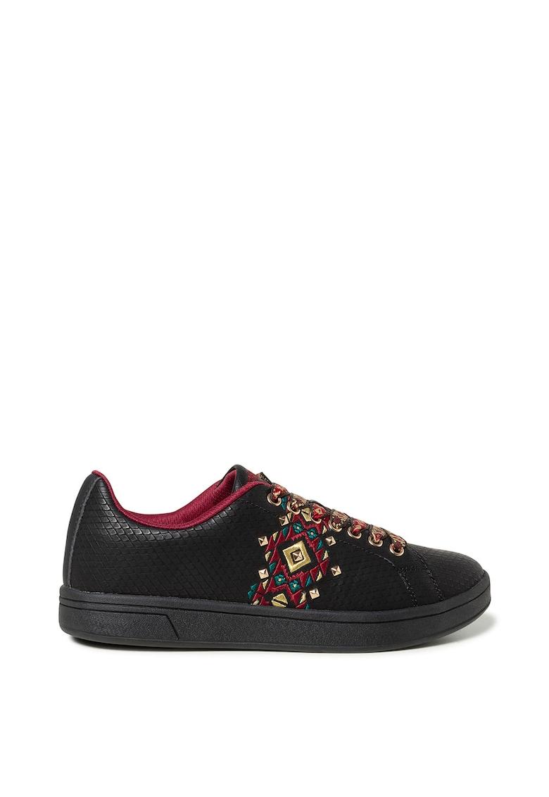 Pantofi sport de piele ecologica Navajo