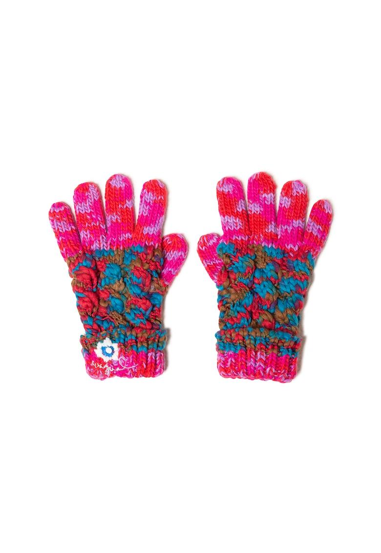 Manusi tricotate cu model abstract imagine fashiondays.ro