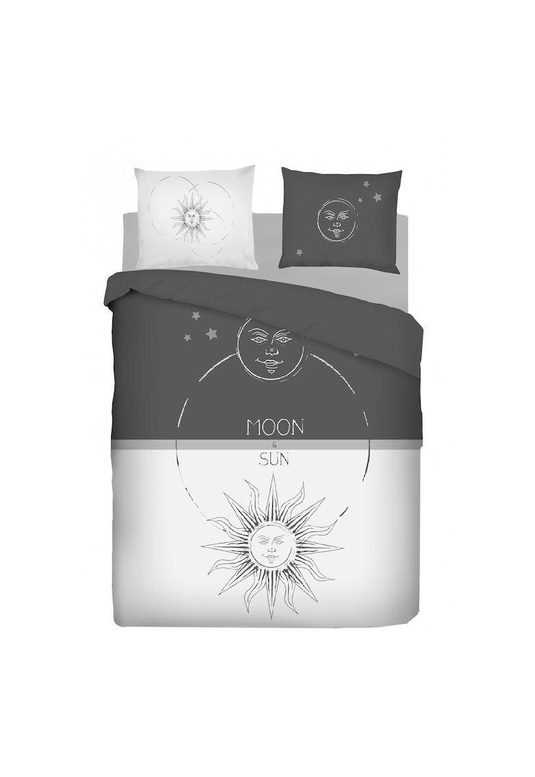 Lenjerie de pat pentru 2 persoane - bumbac ranforce - 144 TC1