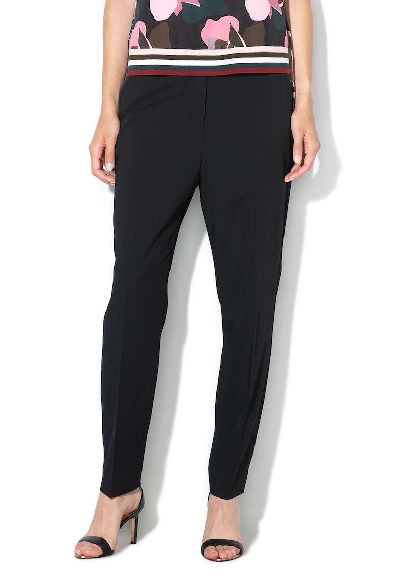 Pantaloni conici din amestec de lana Salotet