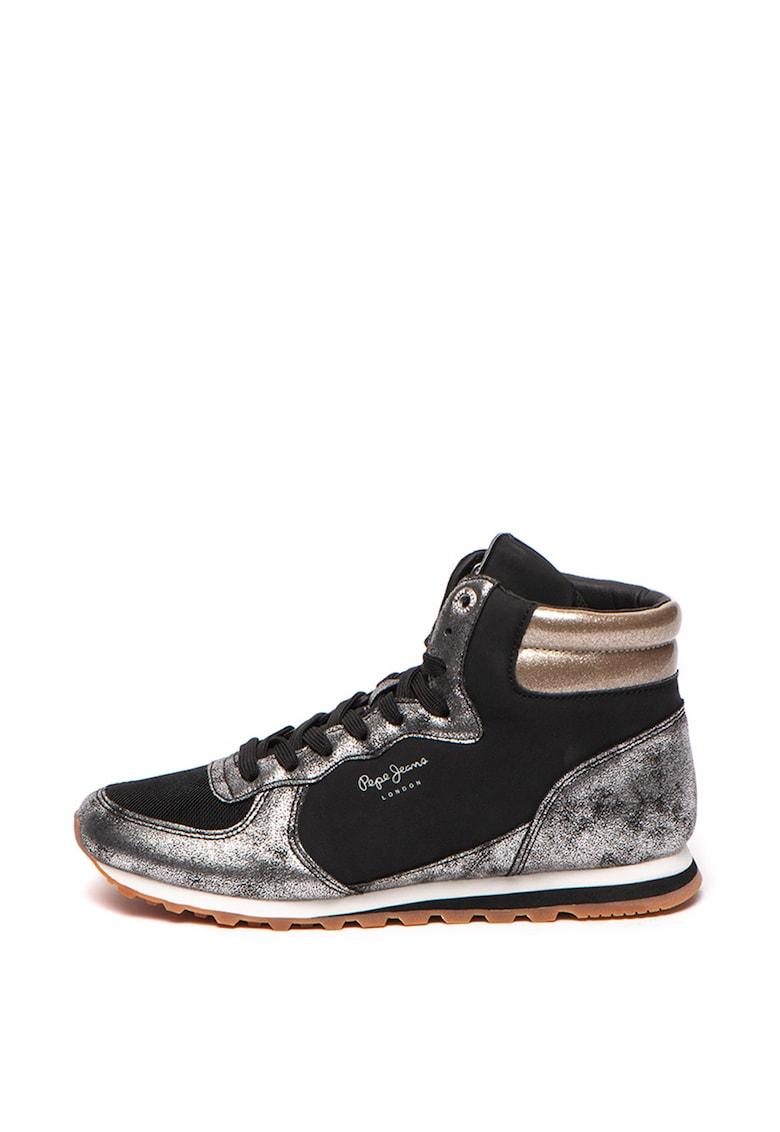 Pantofi sport cu accente metalizate Verona W Twin