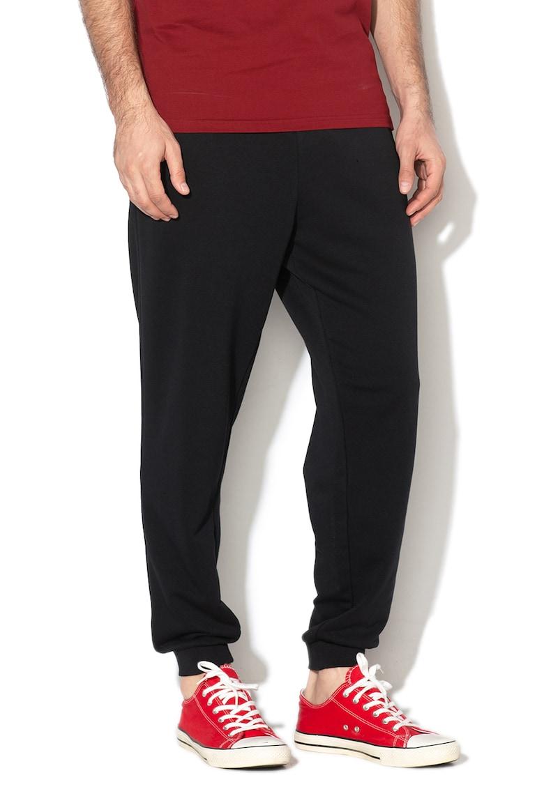 Pantaloni sport cu snur si imprimeu grafic Nova de la Converse