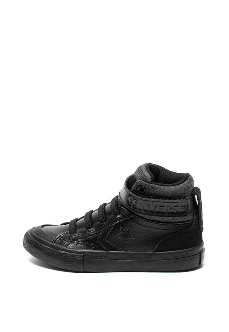 Pantofi sport de piele - cu insertii de piele intoarsa Pro Blaze Strap