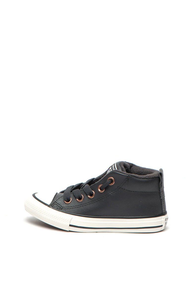 Tenisi mid-top de piele Chuck Taylor All Star Street Converse