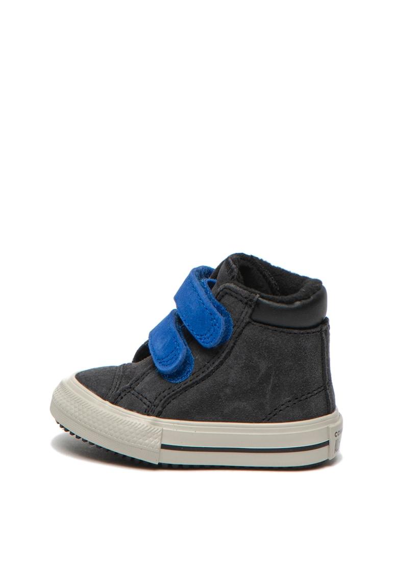 Converse Pantofi sport de piele intoarsa - cu logo si velcro Chuck Taylor All Star