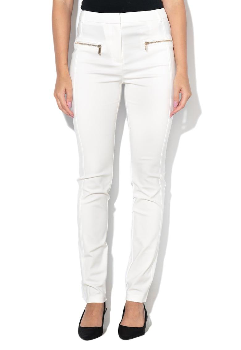 GUESS BY MARCIANO Pantaloni conici - cu aplicatii cu fermoar
